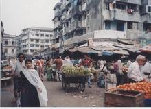 ボンベイの市場
