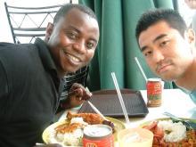 Lunch with Yakubu