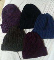 ニット帽たち