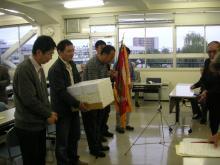 表彰をうける釜石支部