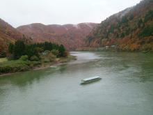 最上峡の紅葉3