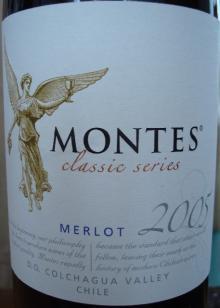 Montes Classic Series MERLOT 2005