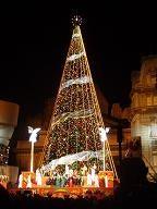 USJのクリスマスツリー9