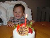 1歳お誕生日