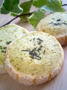 キャラメル*ラッテ-緑茶クッキー
