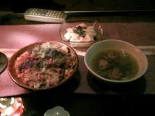 坦坦ご飯丼2