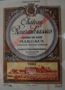 Ch Rauzan Gassies 1982