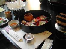 びわ湖花街道の昼食