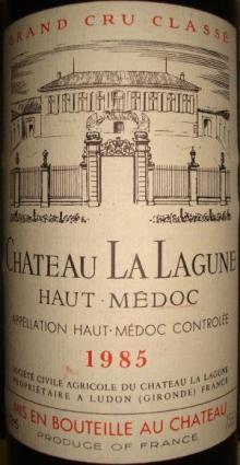 Ch LaLagune 1985