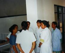 看護婦さんのミーティング2