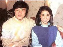 ジャッキーと奥さんジョアン・リン(林鳳嬌)