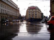 雨後のクラコフ