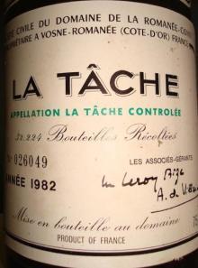 La Tache DRC 1982