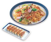太麺皿うどん