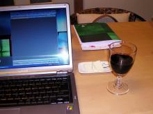 ワインとPC