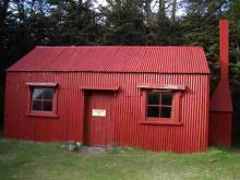 古い山小屋