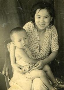産まれて初めての写真です。