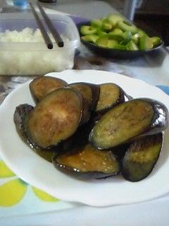 茄子バター醤油