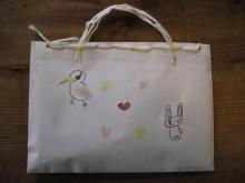 紙のバッグ
