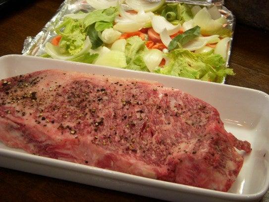 長澤家のレシピブログ-ローストビーフ食材画像