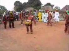 アフリカンダンス!ある部族たちのグルグルダンス