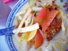魚の頭の麺