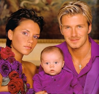 1999年3月4日に生まれた長男ブルックリン・ベッカム