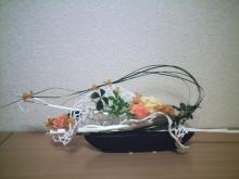 エレガントテーブルアレンジ1