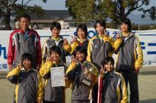 福岡県ソフトテニス連盟 中学部会-中学選抜女子優勝