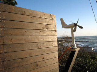 飛行機型の風速計