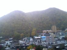 旅館の窓から(早朝)