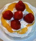 炊飯器ケーキ完成!