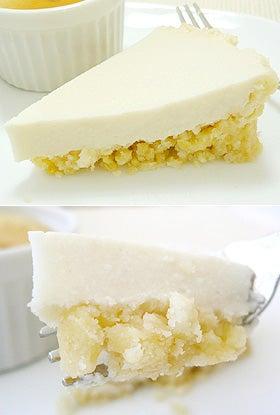 お豆腐で料理-豆腐レモンパイ