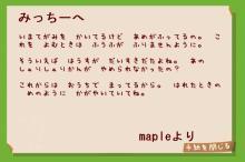 mapleからの手紙
