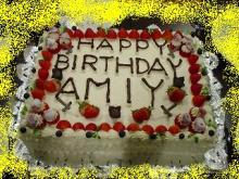Birthday ケーキ