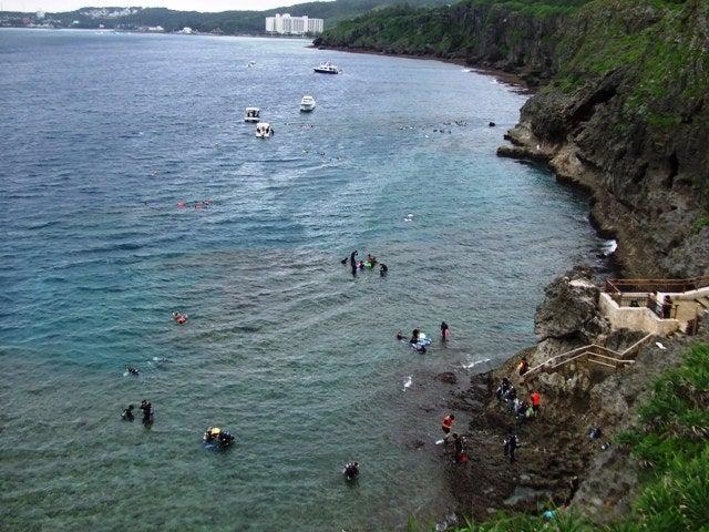 今日の真栄田岬