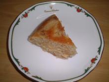 リンゴケーキスライス