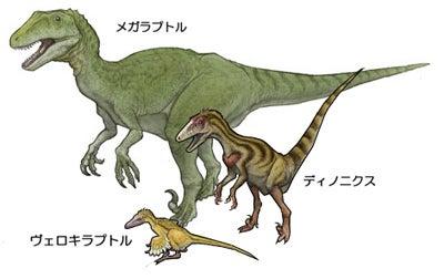 川崎悟司 オフィシャルブログ 古世界の住人 Powered by Ameba-ドロマエオサウルス類