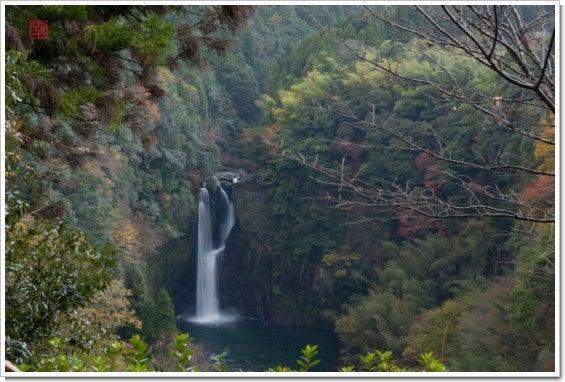 紅葉の聖滝