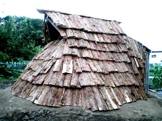 我が家の竪穴式住居