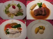 夕食コース料理、ちょっと贅沢な気分(*^^*)