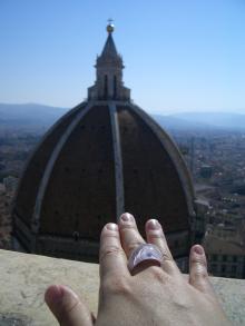 ドゥオモと指輪
