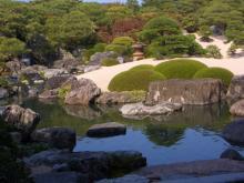 白砂青松庭①