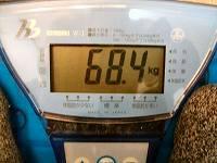 9月の体重