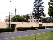 La embajada de Rusia