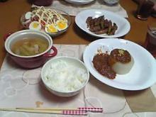ノリスケ作 夕飯
