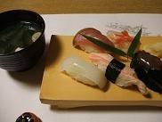 蛇目寿司本店の寿司