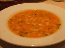 インゲン豆のスープ