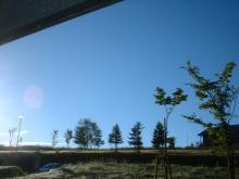 マッカリーナ朝の空