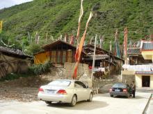 チベットの民家